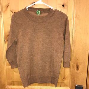 J Crew Merino wool sweater.